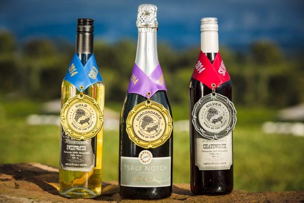 Award Winning Wines from Tsali Notch Vineyard