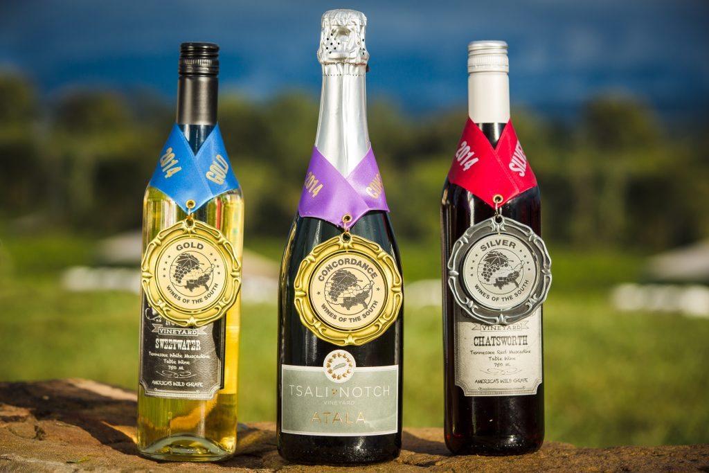 Award Winning Wines from Tsali Notch Vineyard